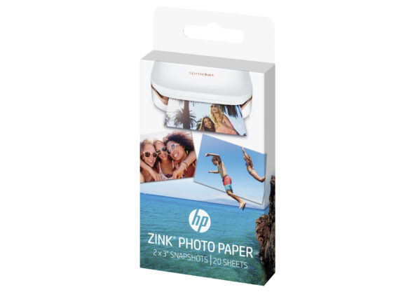 HP ZINK Sticky-Backed Photo Paper Fotopapir 50 x 76 mm 20ark